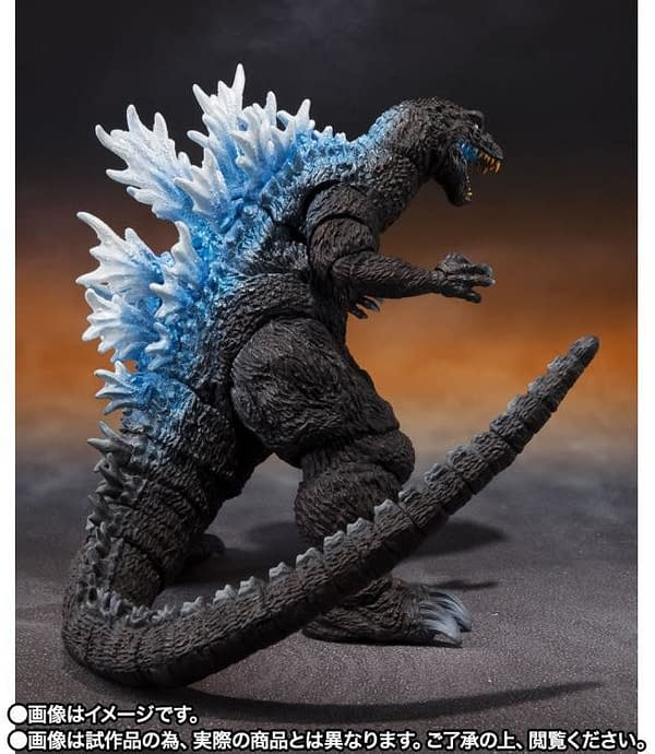 Godzilla Brings the Heat With New S.H. MonsterArts Figure