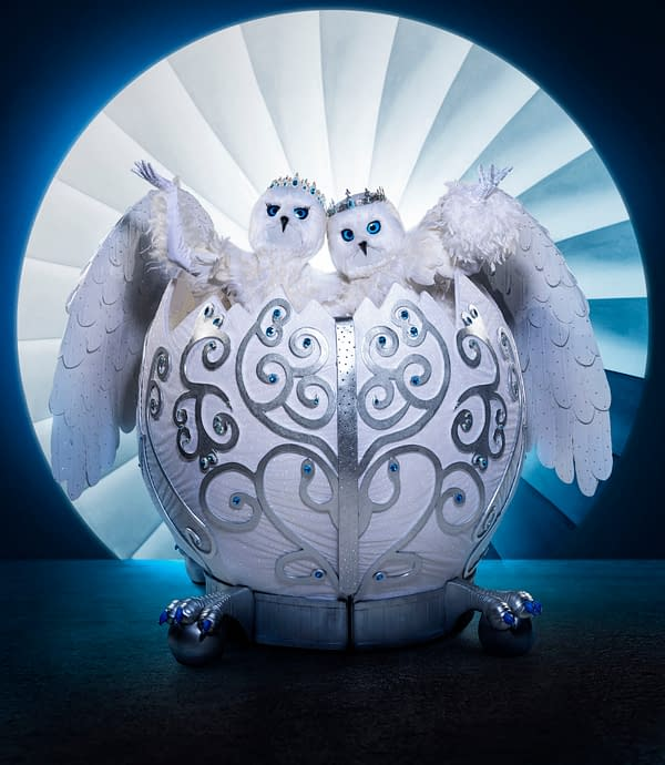 The Masked Singer Season 4: First 2-Person Costume Snow Owls; Popcorn