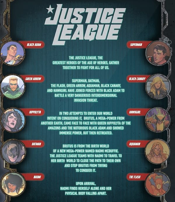 Re-Cap Pages, New DC Superhero Terms And More In Justice League #61