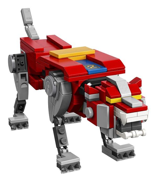 LEGO Ideas Voltron Set 4