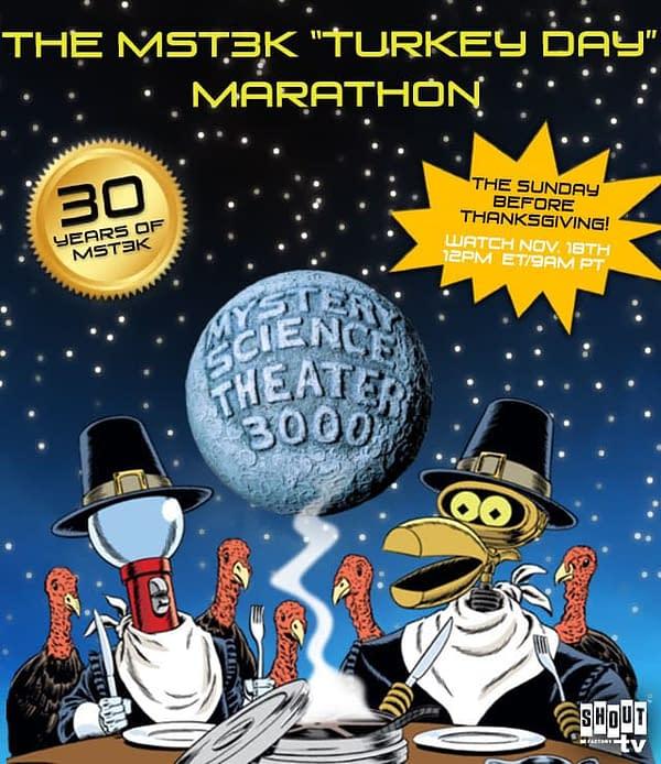 Mystery Science Theater 3000 Unveil Their Turkey Day Marathon Plans