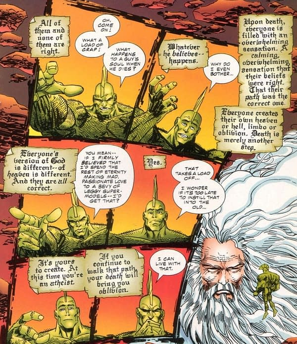 The Quite Definite Death Of [SPOILERS] In Savage Dragon #225