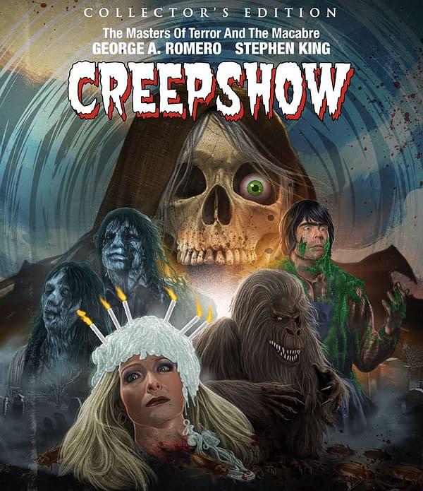 Scream Factory Creepshow Blu Ray