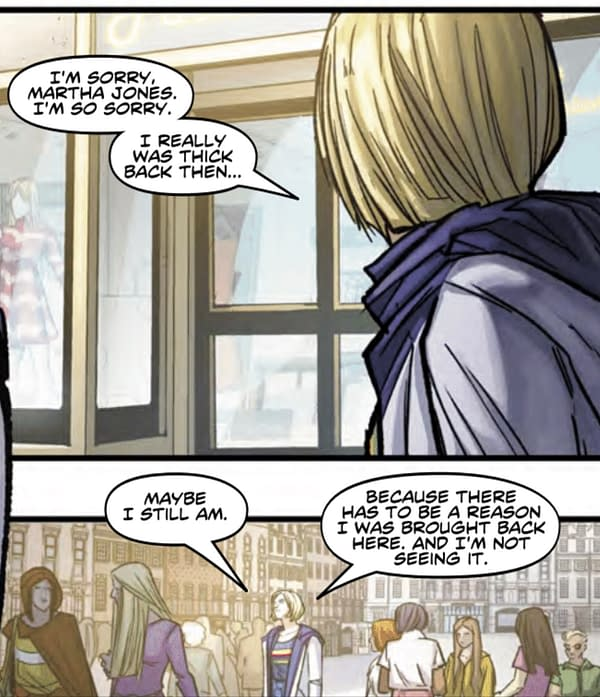 The Thirteenth Doctor Who On Martha's Feelings For Her - and Him