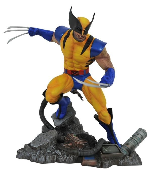 New Marvel Diamond Select Statues Include Wolverine, Lizard and Gamora