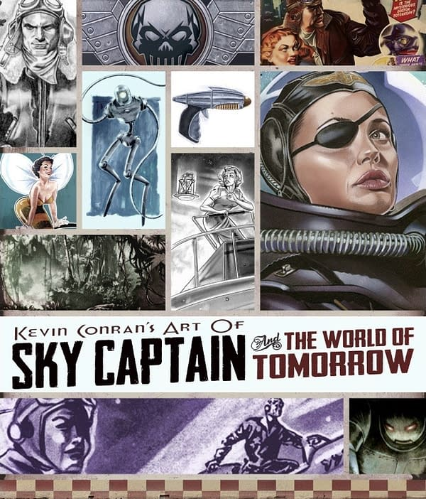 Sky Captain And The World Of Tomorrow Gets An Art Book From Dynamite