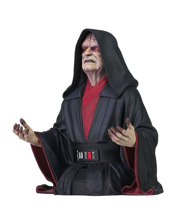 New Star Wars Diamond Select Statues Arrive with Boba, Maul, and Sheev