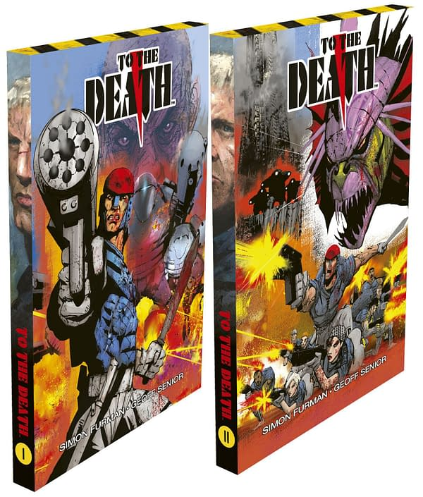#SimonFurman and #GeoffSenior 's #ToTheDeath Gets Slipcases, New Content and a Free Newspaper Strip for Killatoa.
