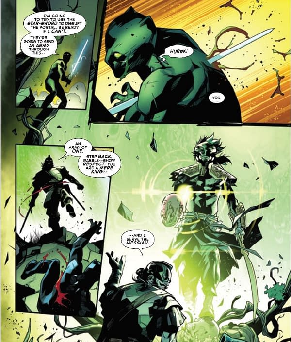 Be Careful Of Portals And Swords In the Marvel Universe Right Now