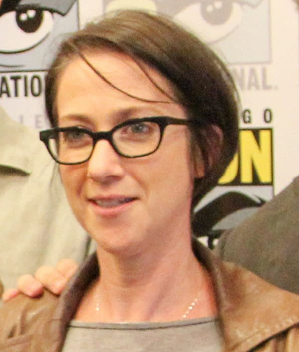 Director S.J. Clarkson at 2014 Comic-Con. Attribution: chrisjortiz / CC BY (https://creativecommons.org/licenses/by/2.0)