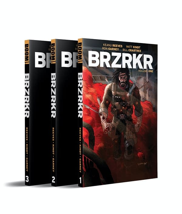 Keanu Reeves' Comic BRZRKR Heads To Kickstarter