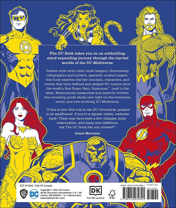 Grant Morrison Writes Forward For DC Multiverse Simply ExplainedBook