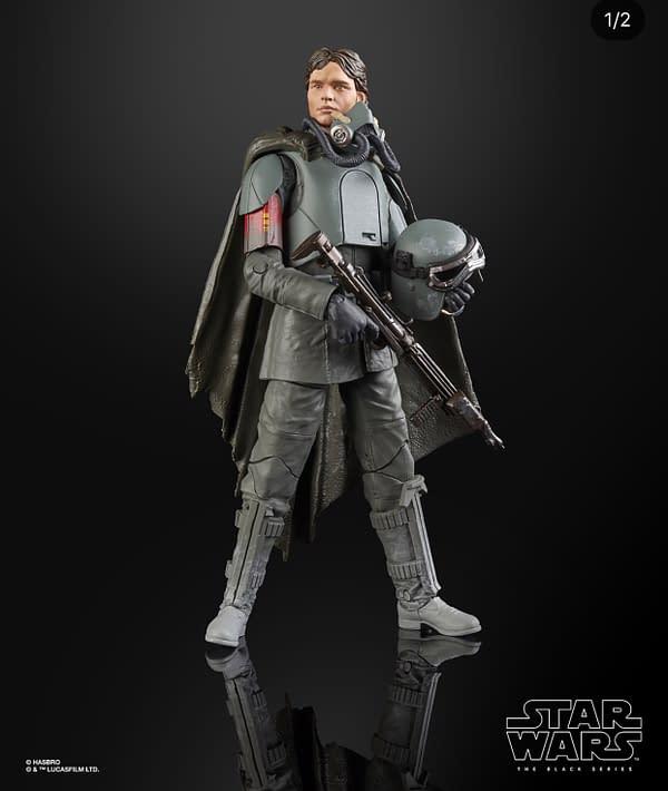 Star Wars Black Series Han Solo Mudtrooper Unboxing Con Reveal