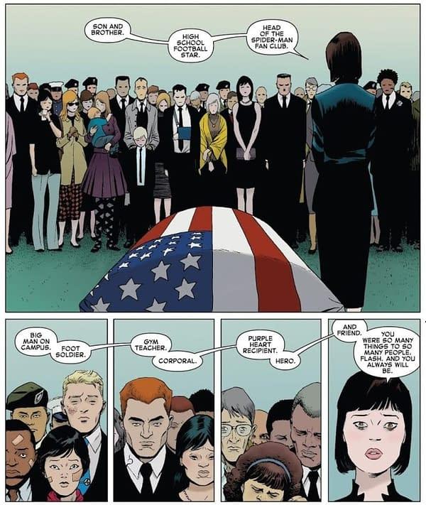 Venom #10 Plugs Flash Thompson Funeral Continuity Plothole…