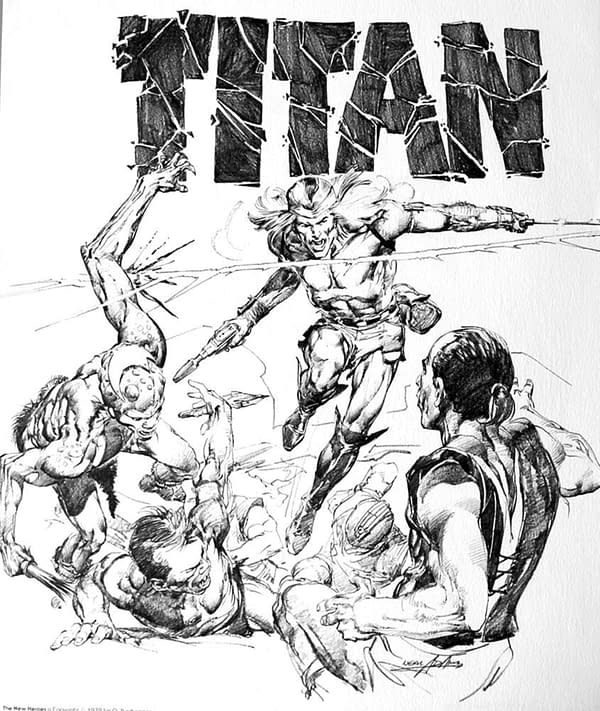 The New Heroes by Neal Adams