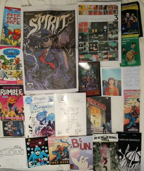 The Swag Of Thought Bubble 2017 From An AirBnB That Has Not Burnt Down – Yet