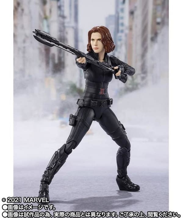 Black Widow Join the Battle of New York With S.H. Figuarts
