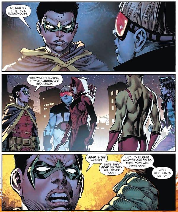 Damian Wayne, Murderer...