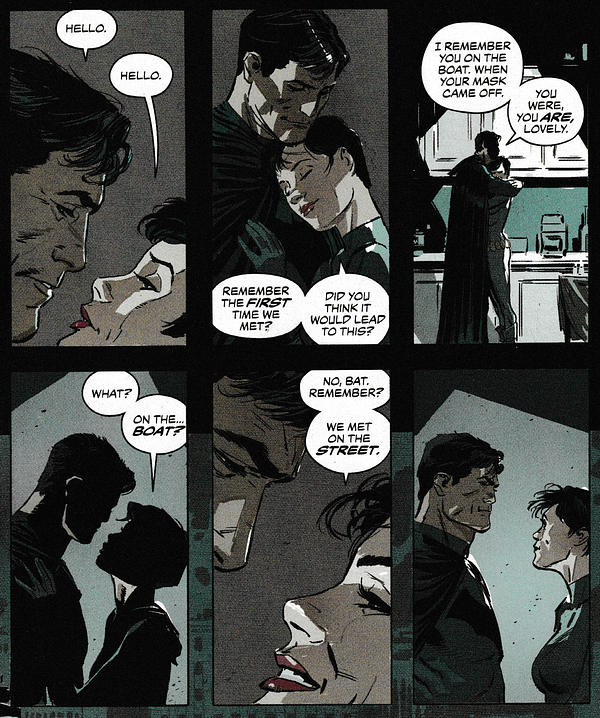 The Fight That Catwoman and Batman Have Been Having Their Whole Lives (Batman Annual #2 Spoilers)
