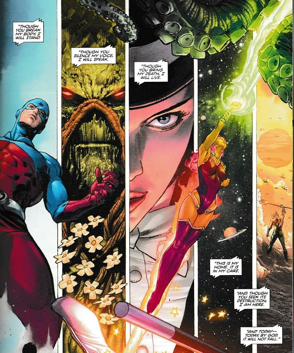 What Clues Does Heroes In Crisis #5 Offer to Tom King's Next DC Comics Project? (Spoilers)