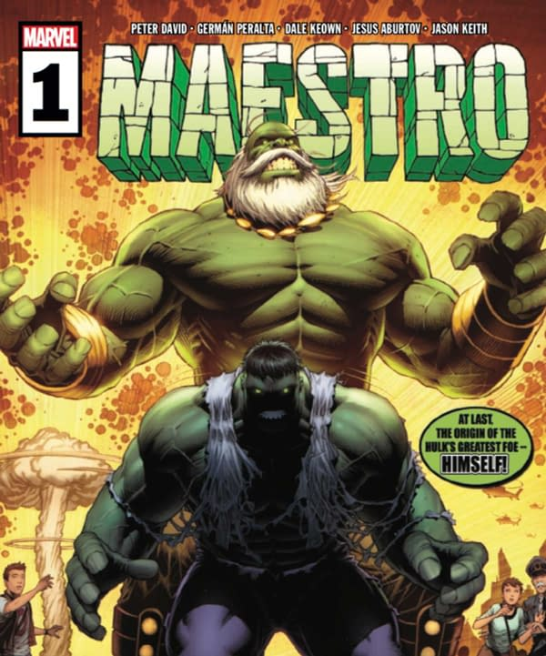 Maestro #1 Review: One Seriously Depressing Book