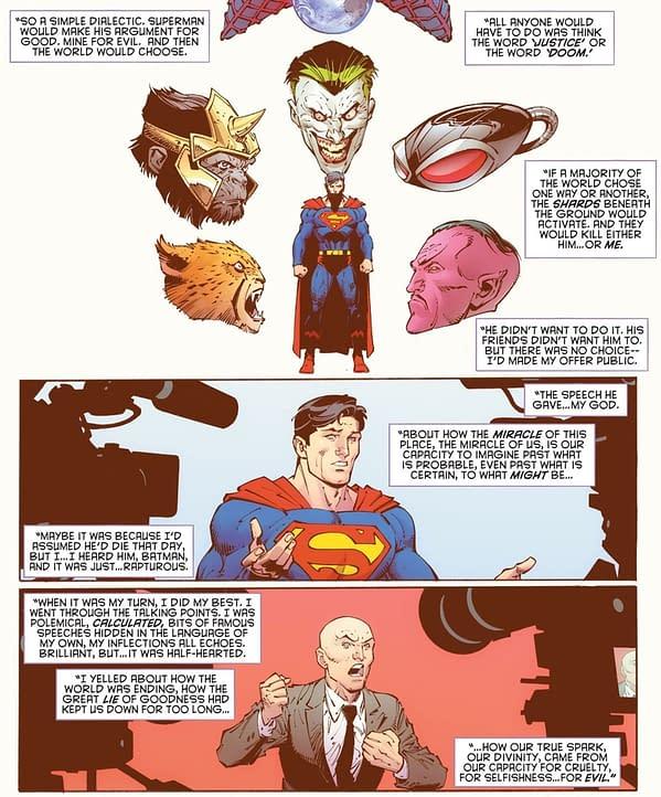 Superman Dies in a Referendum