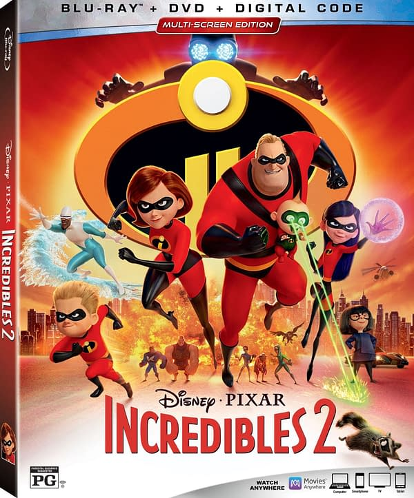 Here's What We're Getting on the 'Incredibles 2' DVD, Blu-Ray