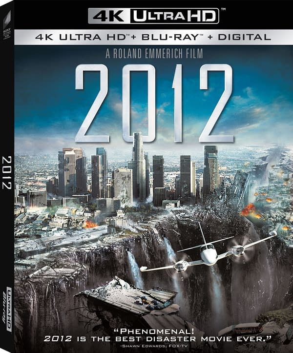 2012 Hits 4K Blu-ray January 19th, Features List Released