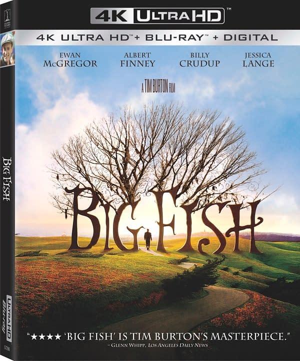 Big Fish Comes To 4K Blu-ray On