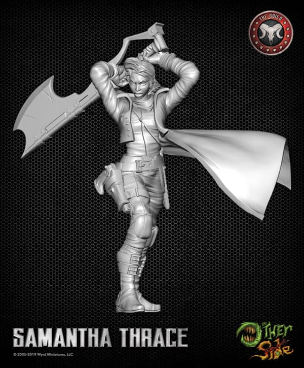 Wyrd Update: 'The Other Side' Mini Rulebook, a Big Ghost, and a Big Ax