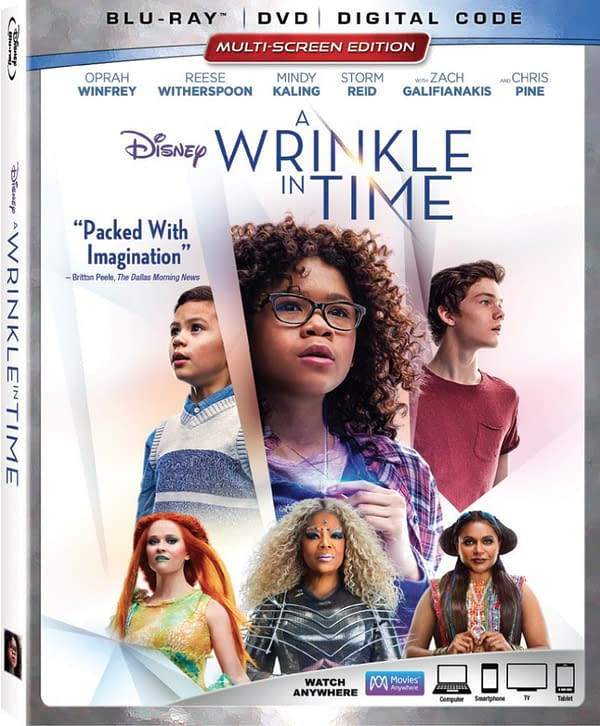 Wrinkle In Time box art