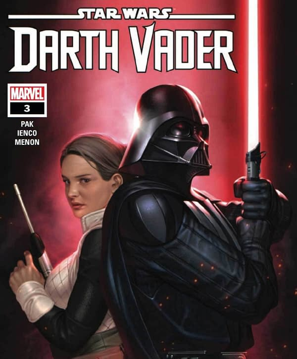 The official cover for Star Wars: Darth Vader #3. Credit: Marvel