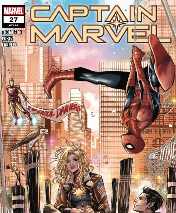 Captain Marvel #27 Review: A Certified Page Turner
