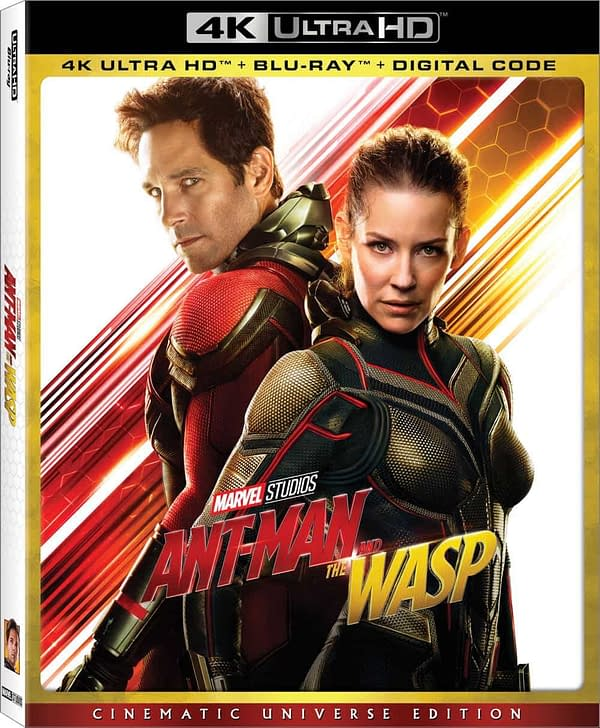 Here's What We're Getting on 'Ant-Man and The Wasp' Blu-Ray, DVD