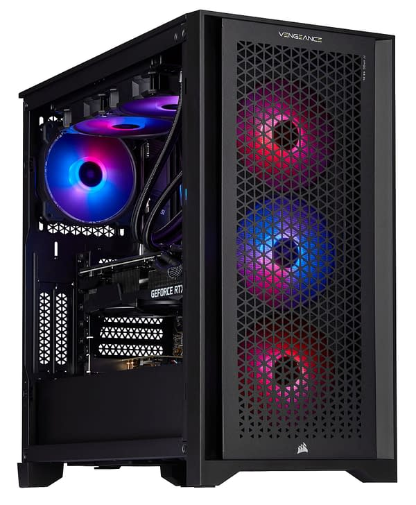 CORSAIR Launches The VENGEANCE a7200 Series Gaming PC