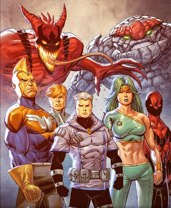 Rob Liefeld Was To Launch new Superhero Team By NFT But Changed Mind