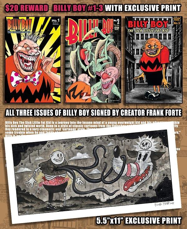 Billy Boy's Demented Kickstarter Journey