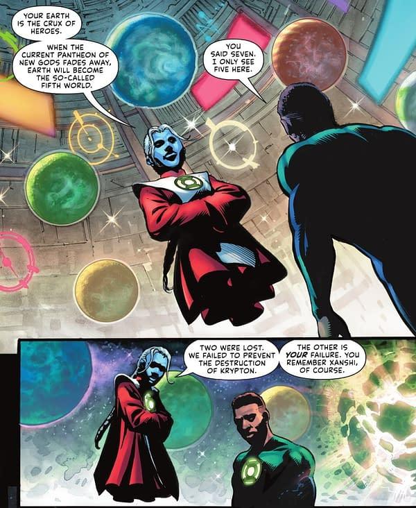 Geoff Thorne Rewrites The Green Lantern Universe
