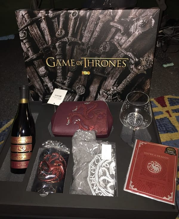 HBO Sent Us a 'Game of Thrones' Gift Set Fit for a [Targaryen] Queen