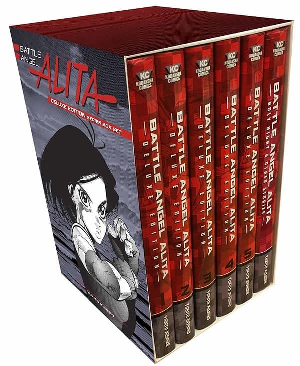 Battle Angel Alita Manga Selling Out on Amazon