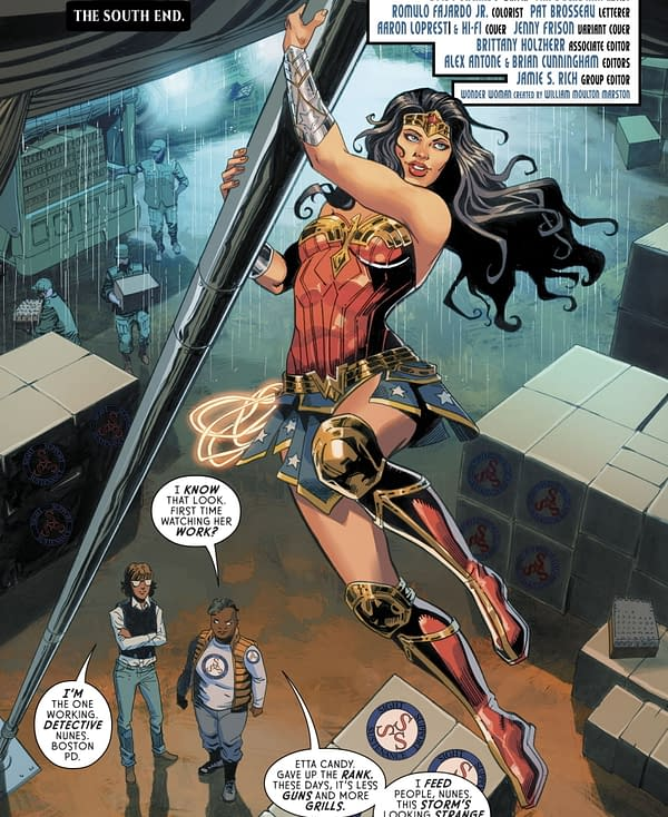 Why Does Steve Trevor Remember the New 52 Wonder Woman Not the Rebirth One?