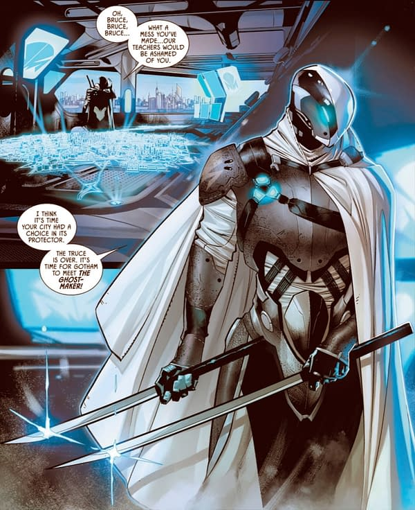 Will Ghost-Maker Deal With Problems Batman Won't?