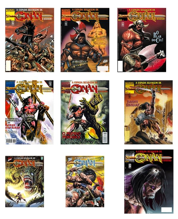 STOLEN: Nine Mike Deodato Conan Paintings