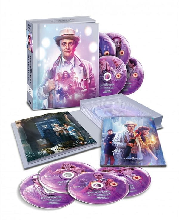 Doctor Who: Season 24, the 7th Doctor's Debut, Coming to Blu-Ray