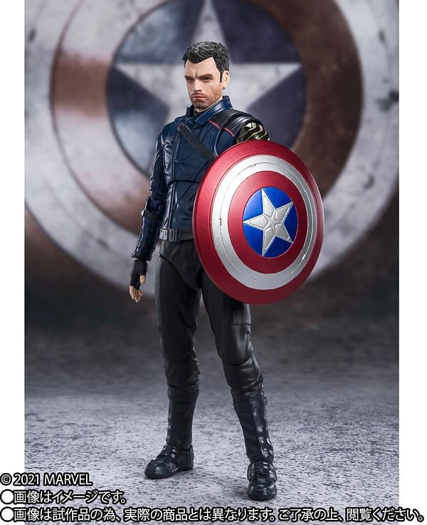 The Falcon and the Winter Soldier Bucky Arrives at S.H. Figuarts