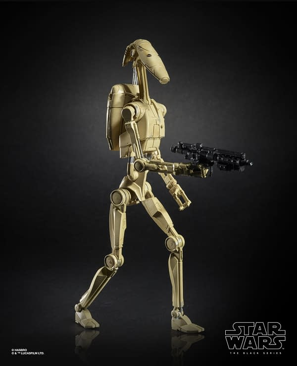 Star Wars The Black Series 6-inch Battle Droid Figure (1)