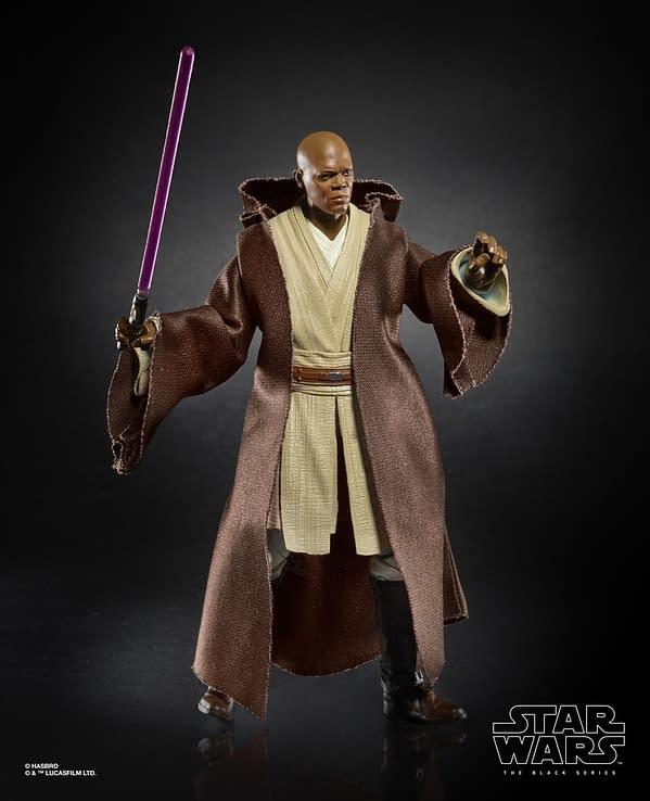 Star Wars The Black Series 6-inch Mace Windu Figure (1)
