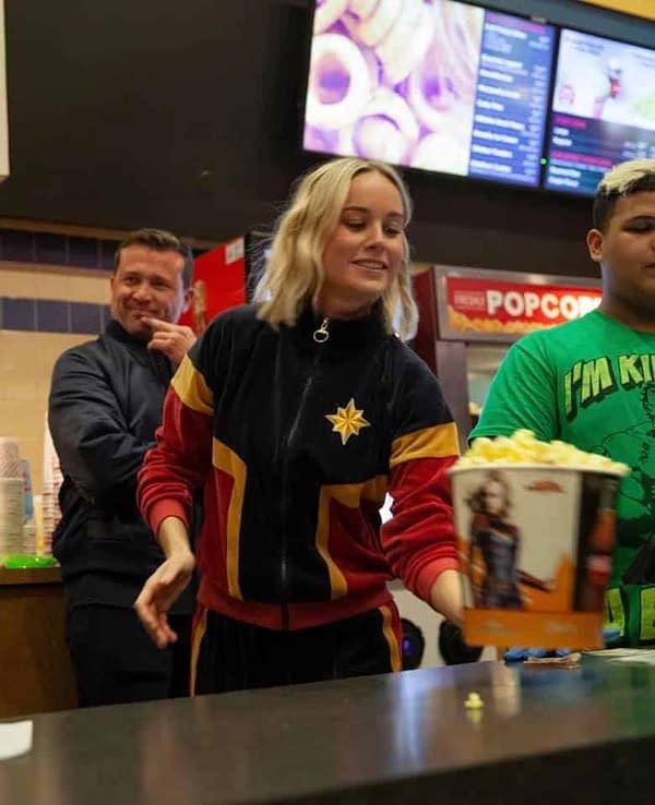 Brie Larson Surprises Fans at 'Captain Marvel' Showing, $455 Million Global Opening