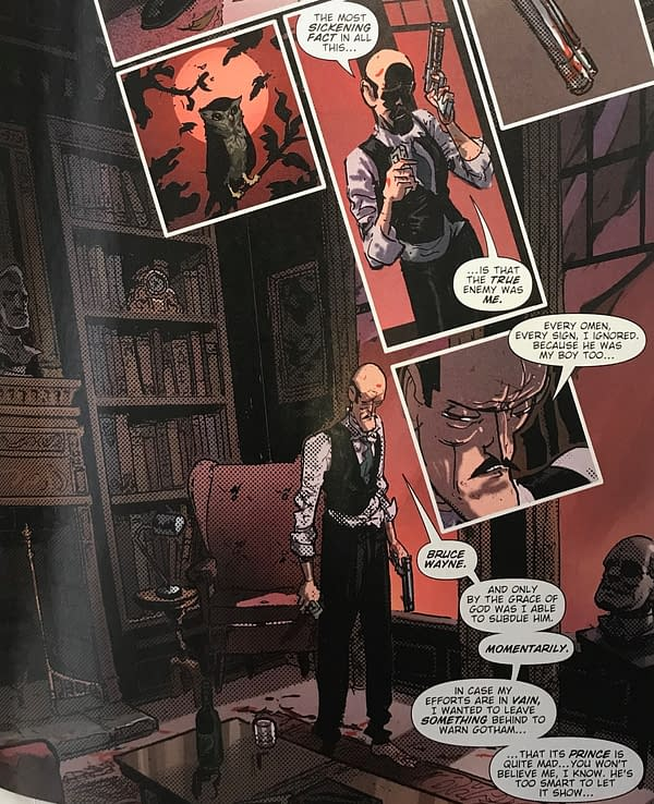 LEAK: Who Is The Robin King in Death Metal Anyway? (Spoilers)