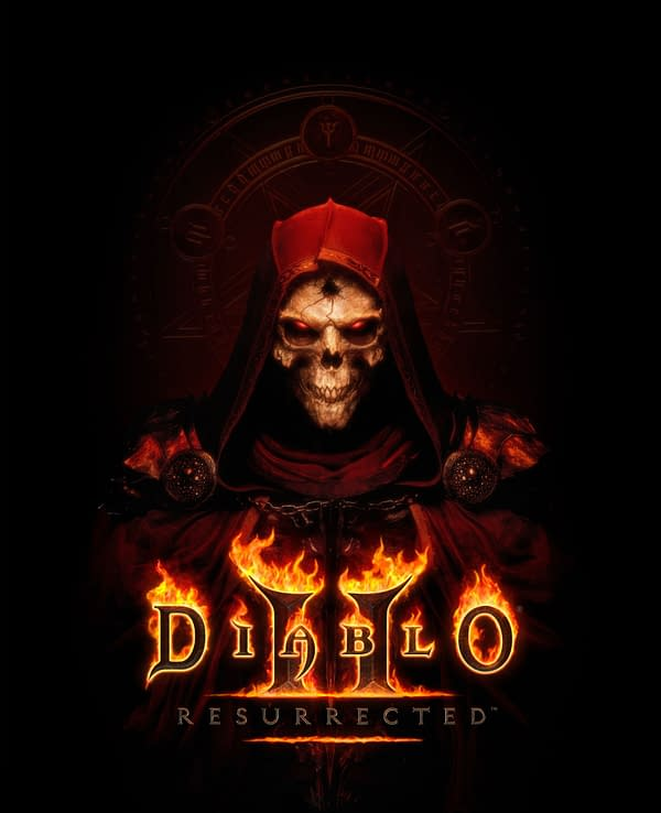 A look at the full artwork for Diablo II: Resurrected, courtesy of Blizzard Entertainment.